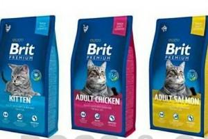 Makanan Kucing Brit Premium